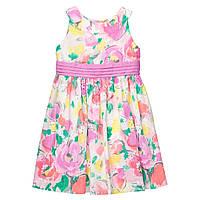 Детское летнее нарядное платье в цветочки Gymboree для девочки