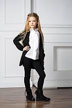 Детский кардиган для девочки SILVIAN HEACH Италия MDJI6104CD Черный