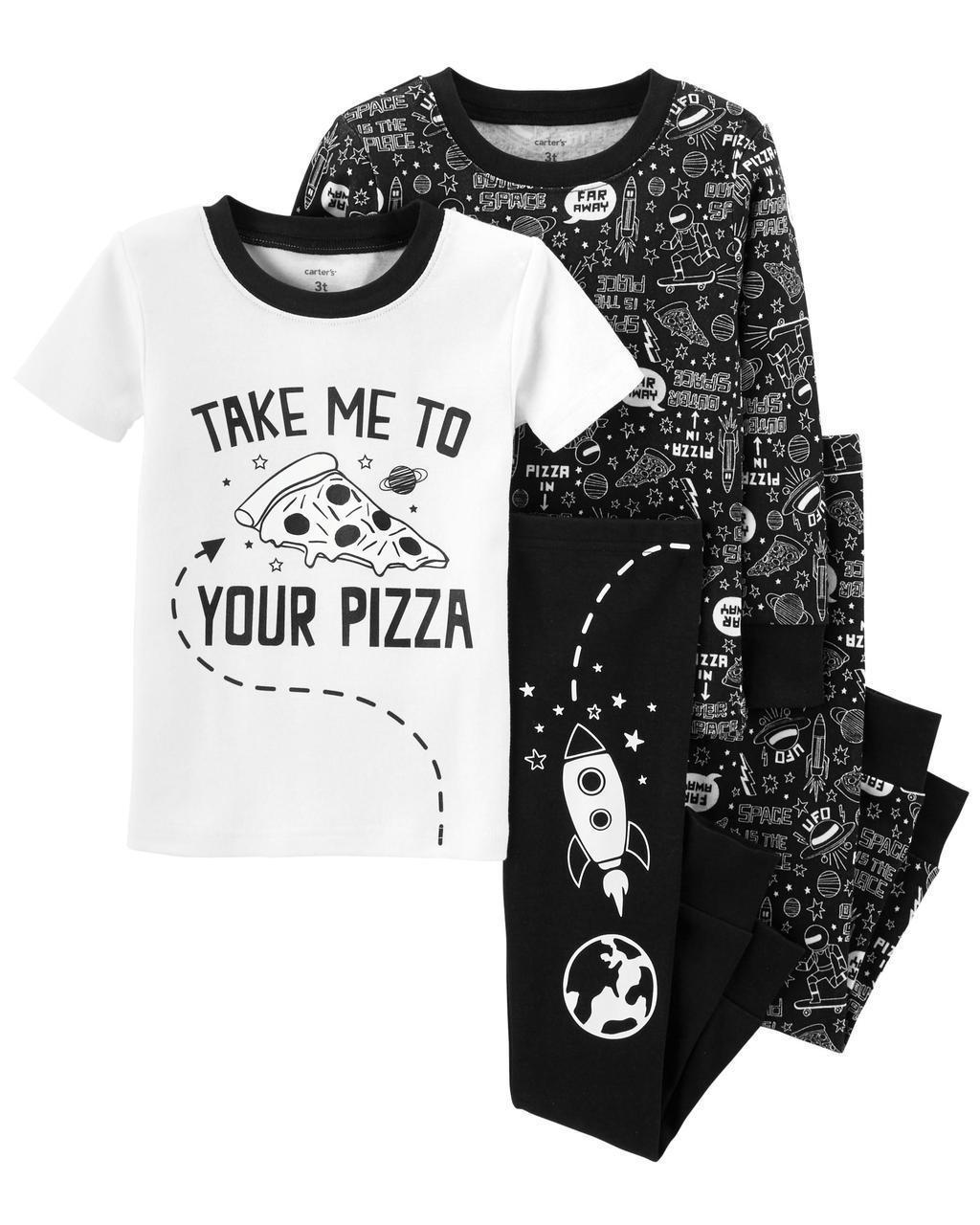 Детские пижамы с принтом, который светится в темноте Картерс для мальчика (поштучно)