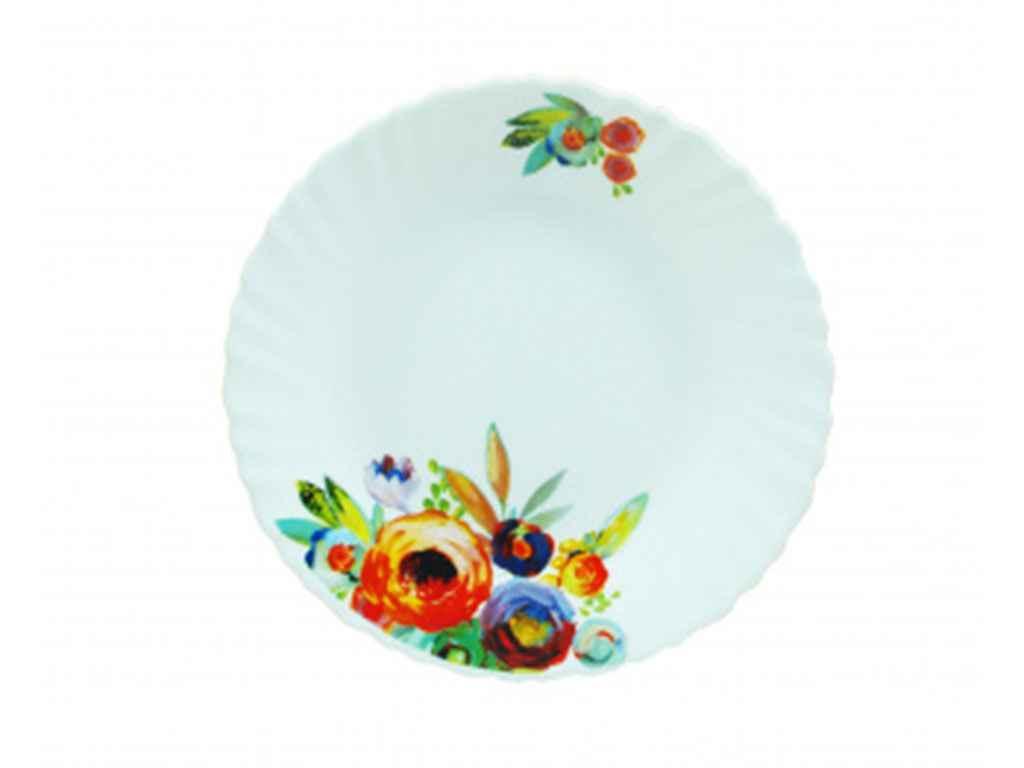 """Набор мелких тарелок 21 см Акварель (6 штук) LXP85 A9-18109 """"UST"""""""