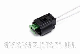 Разъем ВАЗ 2110, 2111, 2112 датчика температуры наружного воздуха, ABS с проводами