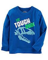 Детский синий реглан Динозавр OshKosh B'gosh для мальчика