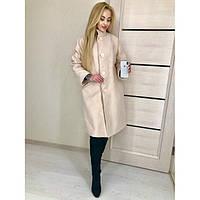 Пальто кашемировое большие размеры Эмили 701 бат