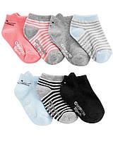 Набор  детских носочков 7 пар ОшКош для девочки
