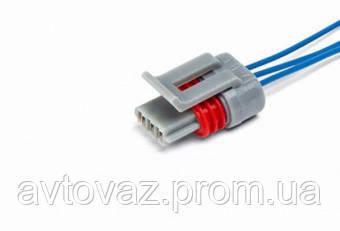 Разъем датчика фаз ВАЗ 2108, 2109, 2110, 2112, 2113, 2114, Приора, Калина с проводами