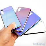 Чохол TPU Gradient Rainbow з лого Xiaomi Mi A3 / CC9e блакитний, фото 5