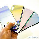 Чохол TPU Gradient Rainbow з лого Xiaomi Mi A3 / CC9e блакитний, фото 6