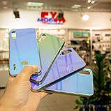 Чохол TPU Gradient Rainbow з лого Xiaomi Mi A3 / CC9e блакитний, фото 7