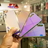 Чохол TPU Gradient Rainbow з лого Xiaomi Mi A3 / CC9e блакитний, фото 8