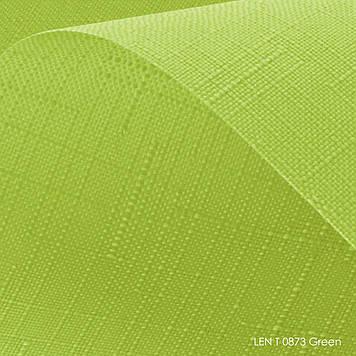 Тканевые ролеты Len T-0873 green