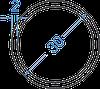 Алюмінієва труба кругла ø 30x2 мм без покриття. Порізка в розмір.