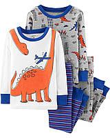 Набор детских пижам из 4-х вещей Картерс  для мальчика