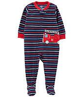 Детский флисовый комбинезон Пожарная машинка Картерс для мальчика