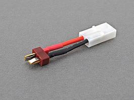 Przejściówka T-connector na Tamiya - wtyk T męski na Tamiya duży żeński [IPower] (для страйкбола)