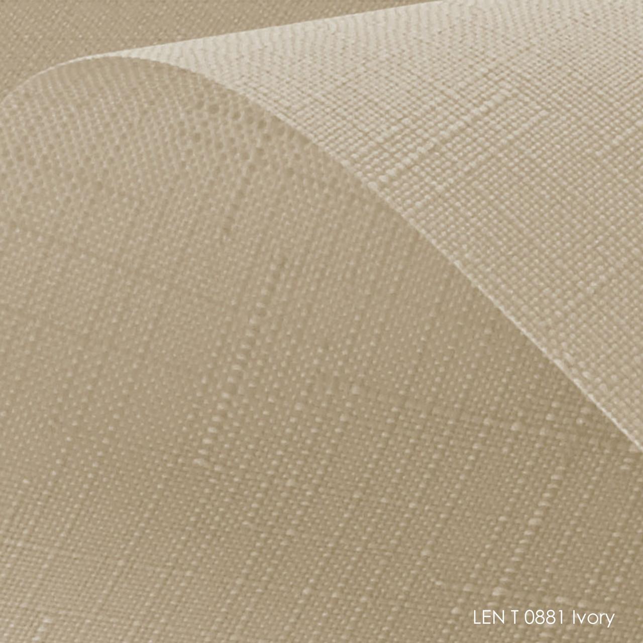 Тканинні ролети Len T-0881 ivory