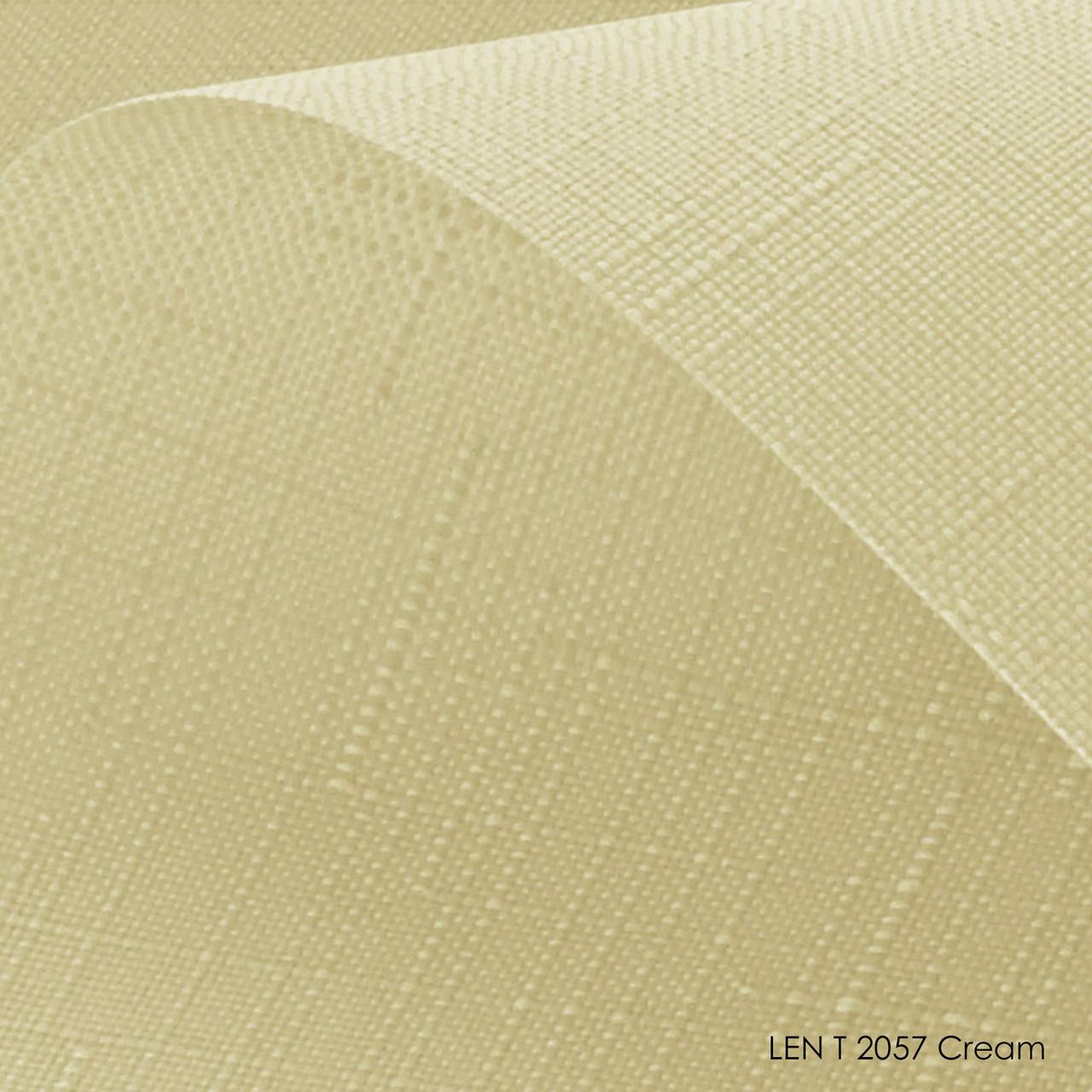 Тканинні ролети Len T-2057 cream
