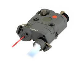 Latarka/laser w formie AN-PEQ-15 - Olive [FMA] (для страйкбола)