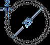 Алюмінієва труба кругла ø 35x2 мм з покриттям. Порізка в розмір.