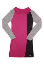 Вязаный Детское платье для девочки Byblos Италия BJ3972 Розовый 128 см