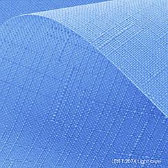Тканевые ролеты Len T-2074 light blue