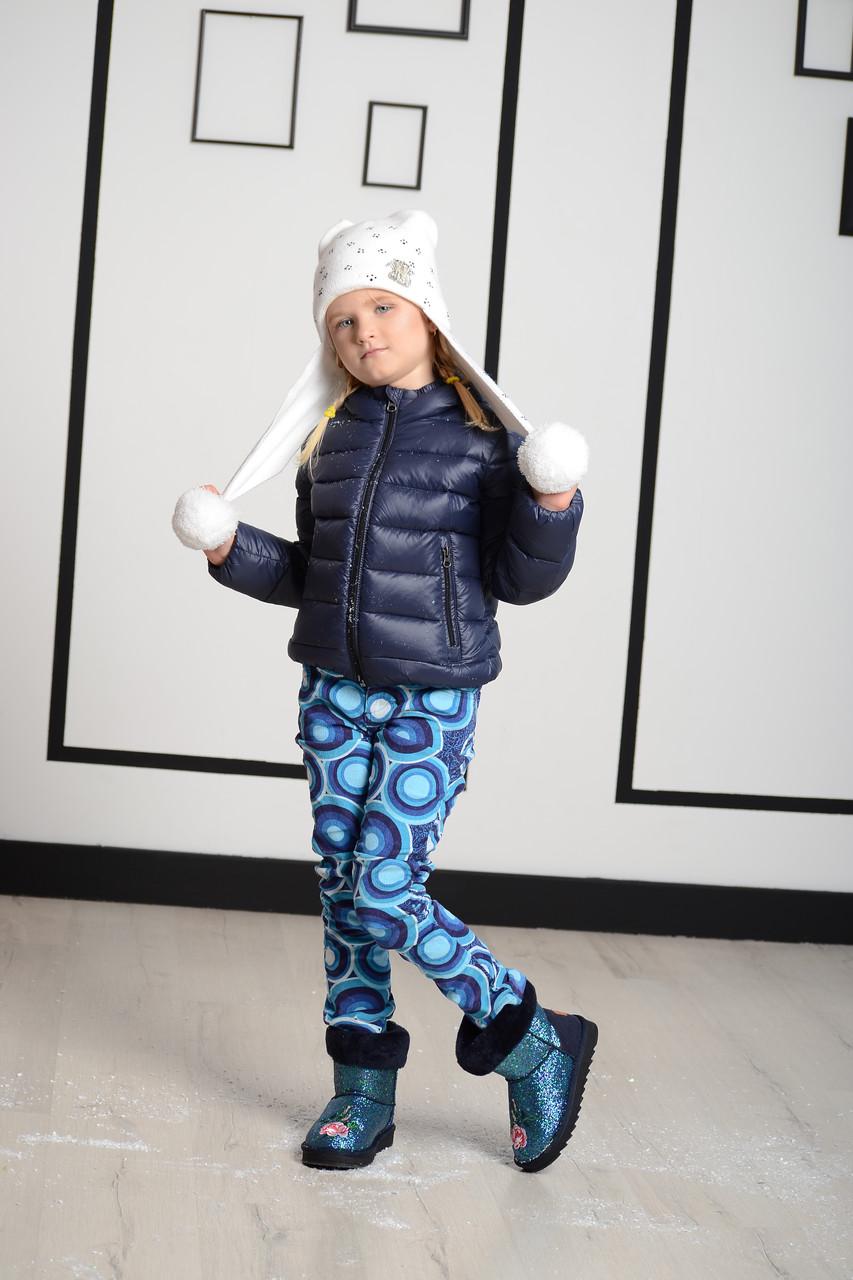 Детские брюки для девочки Desigual Испания 37P3089 Синий