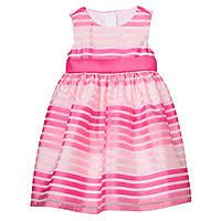 Детское розовое нарядное платье с бантом Gymboree для девочки