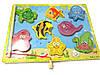 Деревянная магнитная рыбалка, большие рыбы 35942, фото 9