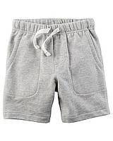 Трикотажные серые шорты Carters Картерс для мальчика