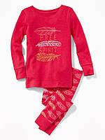 Детская красная пижама Old Navy для девочки