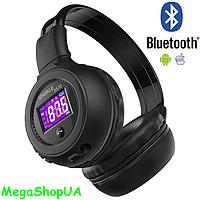 Беспроводные Bluetooth наушники B570. Складные стерео наушники Zealot B570 c ЖК-экраном / microSD / FM / MP3