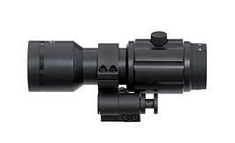 Powiększacz 5x Magnifier z montażem piwotowym QD - Black [Vector Optics] (для страйкбола)