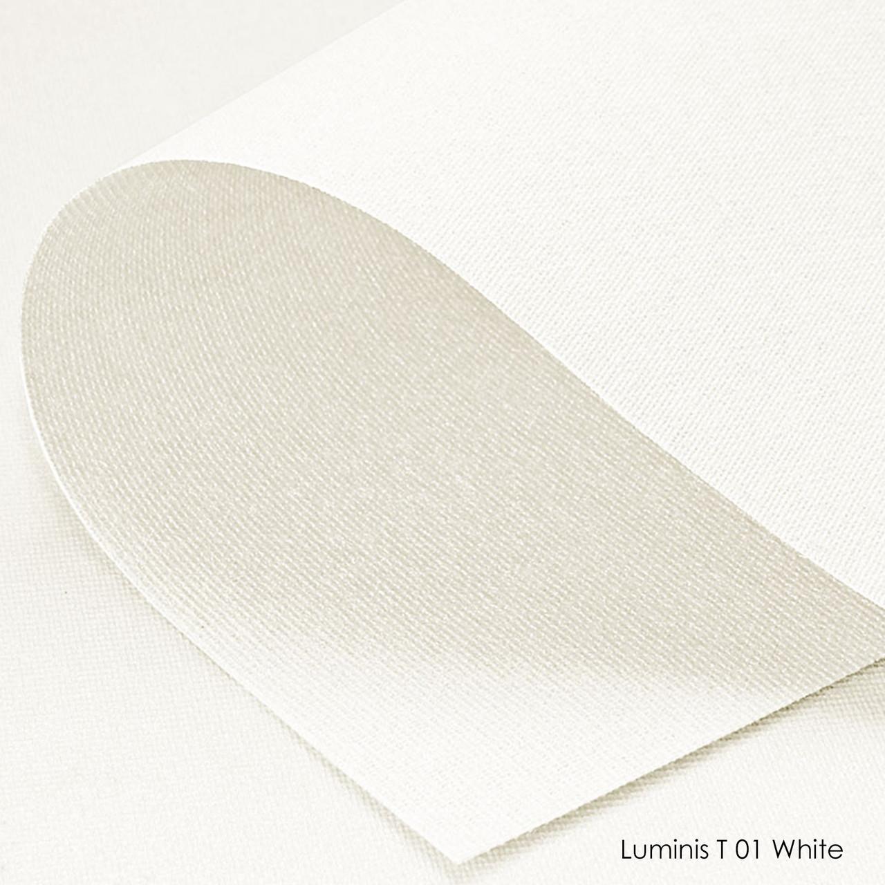 Ролеты тканевые Luminis T-01 white