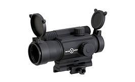 Celownik kolimatorowy Tempest 1x35 - Black [Vector Optics] (для страйкбола)
