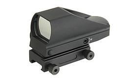 Kompaktowy celownik kolimatorowy 24x34mm - Black [BD] (для страйкбола)