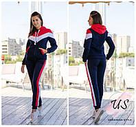 Женский теплый молодежный спортивный костюм. 2 цвета!