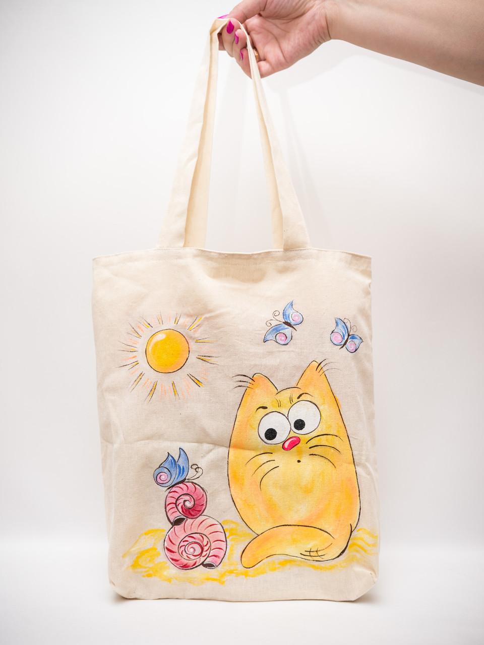 Эко сумка Vikamade Котики