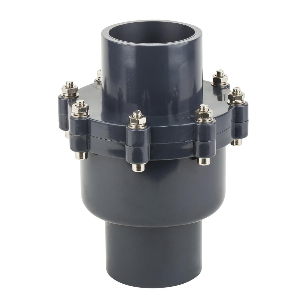 Обратный клапан ПВХ ERA поворотный 110 мм