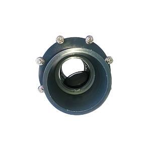 Обратный клапан ПВХ ERA поворотный 110 мм, фото 2