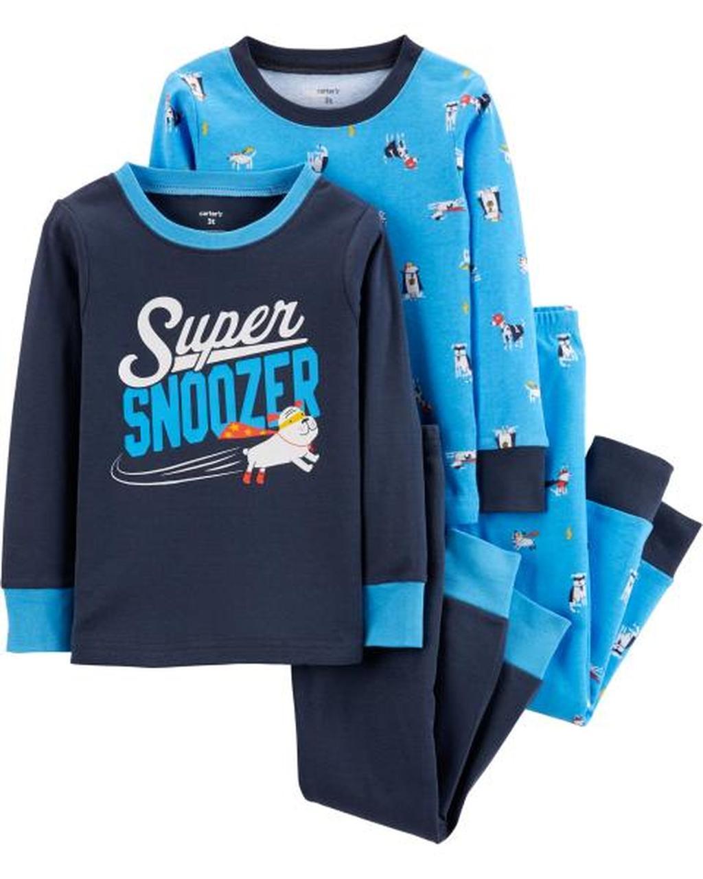 Трикотажные пижамы Суперпес Картерс для мальчика (поштучно)