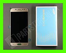 Дисплей Samsung j730 Gold j7 2017 (GH97-20736C) сервисный оригинал