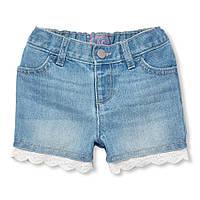 Стильные джинсовые шорты Чилдрен Плейс для девочки