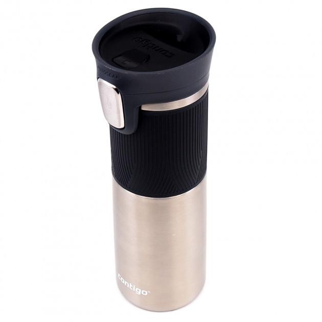 """Термокружка для напитков """"Pinnacle Autoseal"""" 7.4х23см/470мл из нержавеющей стали Contigo"""