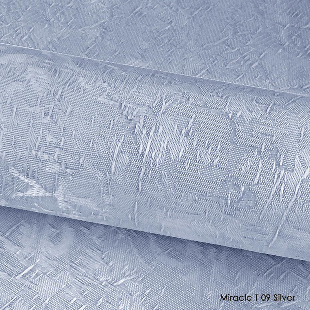 Ролеты тканевые Miracle T 09 Silver