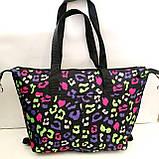 Универсальные женские сумки оптом (яркий принт)32*50см, фото 4