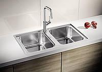 Мойка кухонная из нержавеющей стали Blanco Lemis 8-IF stainless steel, фото 1