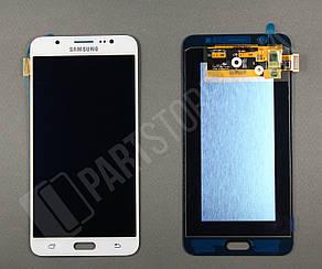 Дисплей Samsung j710 White j7 2016 (GH97-18855C) сервисный оригинал, фото 2