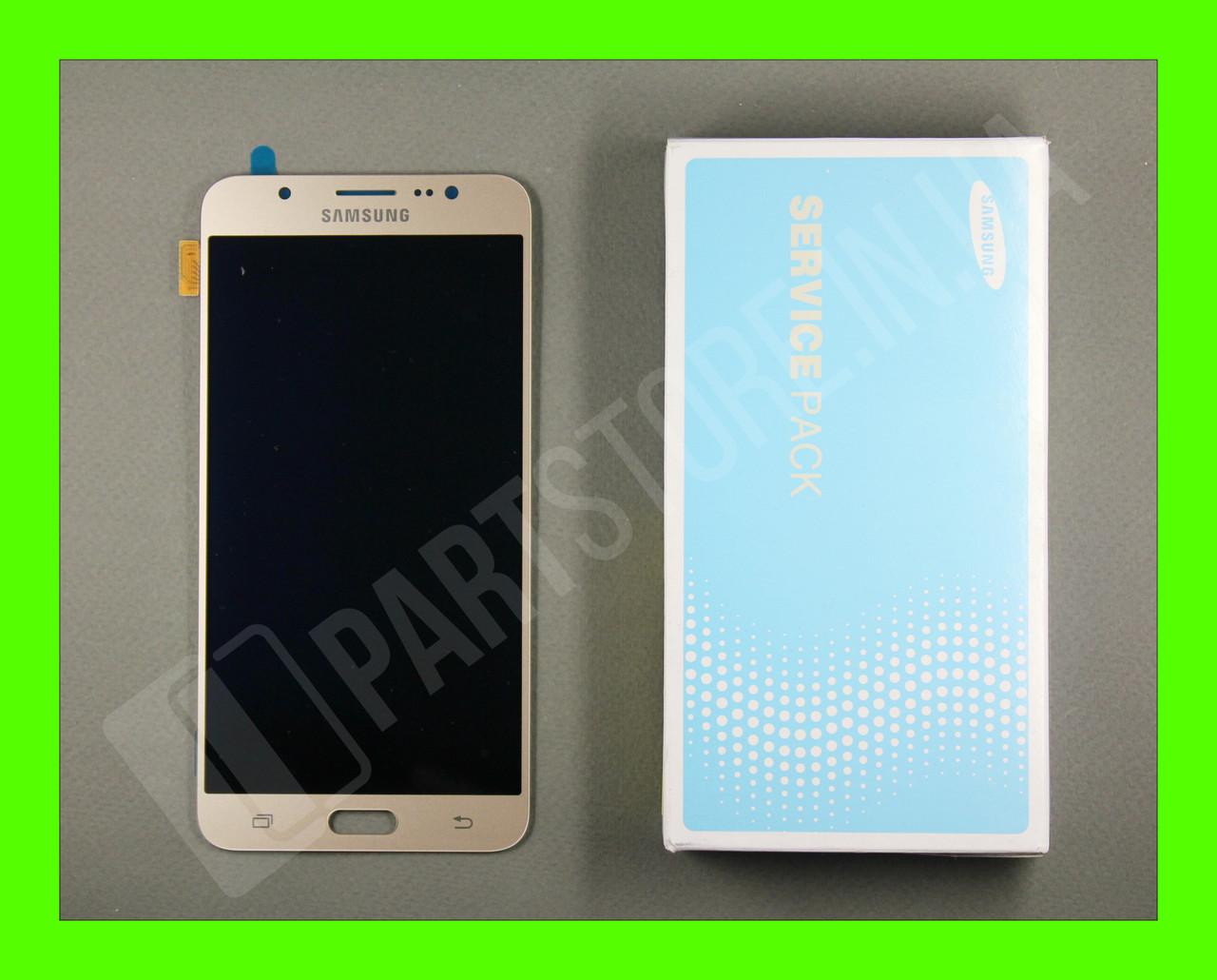 Дисплей Samsung j710 Gold j7 2016 (GH97-18855A) сервисный оригинал