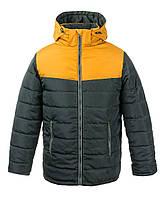 Двухцветная супер модная теплая зимняя куртка для мальчиков 6-16 лет, цвета разные - S9956