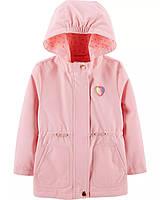 Светло-розовая демисезонная куртка ОшКош для девочки