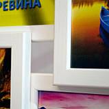 Деревянная мультирамка Ramex Деревянная мультирамка на 3 фото Полет, белый SKU_231195219, фото 2
